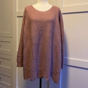Lane Bryant - Dusty Rose Knit Sweater